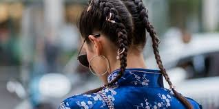 4 French Braid Hairstyles How To Do French Braid Pigtails And Buns