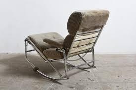 Rocking Chair Modern midcentury modern chrome frame rocking chair 1960s for sale at 6244 by uwakikaiketsu.us
