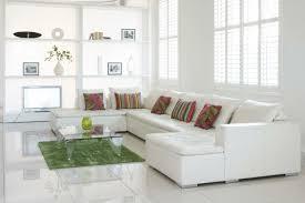 white floor tiles living room. Beautiful Floor Floor Tiles White Corner Sofa Green Carpet Living Room On White Floor Tiles Living Room O