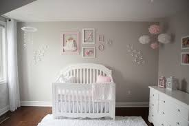 pinkgraynurserynew 3492 Pink and Gray Baby Girl Nursery Tour