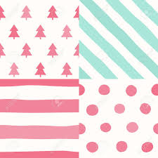 Seamless Pattern Simple Christmas Background Design Royalty Free