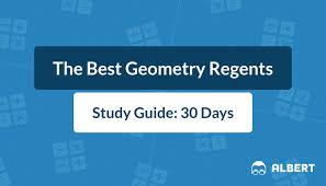 the best geometry regents study guide