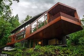 Modern architecture and expensive furnishings make the Cullen home  desirable. Called the Hoke House,