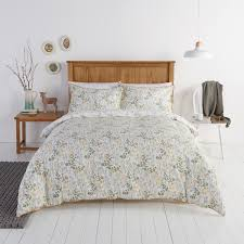 close image for sainsbury s home wild flower 200tc sateen printed bed linen from sainsbury s