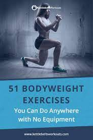 51 body weight exercises you can do