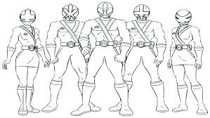 Power Ranger Color Pages Mighty Power Rangers Coloring Pages Mighty