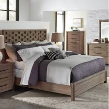 wood panel bed. Mirabelle Wood Panel Bed In Ecru O