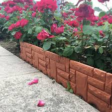 garden edging border flower bed edging