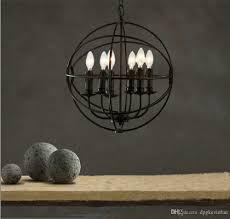 industrial lighting fixture. Loft Style Vintage Industrial Lighting Led Pendant Light Fixtures Restaurant E14 6/8 Bulb Living Room Lamp Hanglampen Drum Shade Kitchen Fixture