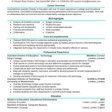 Grant Accountant Sample Resume Chief Accountant Resume Examples Sample Accounting Unique Staff 23