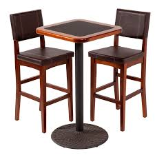 high top table and chairs space saving bistro design with small space high top kitchen