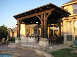 Backyard Deck With Pergola Deck Ideas - Exterior decking materials