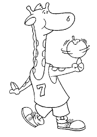 Basketbal Kleurplaten