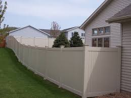 Yoder Fencing LLC Vinyl Privacy Fence
