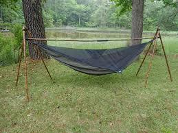 outdoor hammock stand plans