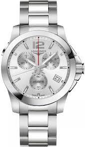 l3 702 4 76 6 longines conquest quartz chronograph mens watch availability longines conquest quartz chrono 41mm mens watch