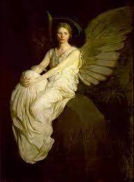 abbott handerson thayer stevenson memorial 1903 81 7 16 x 16 1 8 smithsonian american art museum washington dc gift of john gellatly