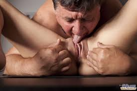 Old man lick young Excellent porn. Old man licking in 69.