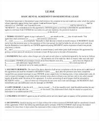 Sample Home Rental Agreement Rental Agreements Examples Basic House Agreement Free Home – onbo tenan