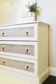 ikea tarva dresser refinished. Ikea Tarva Dresser Makeover For Nightstand Refinished
