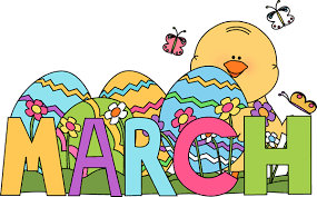 Image result for free clipart for march