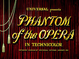 Image result for phantom of the opera 1943 susanna foster and claude rains