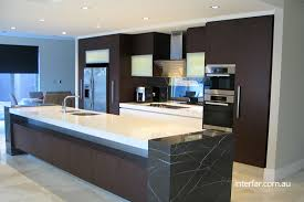 contemporary kitchen furniture. Contemporary Kitchen In Veneer And Stone Furniture
