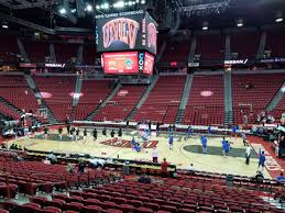 Thomas And Mack Center Section 116 Rateyourseats Com