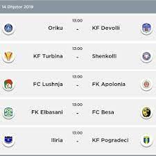 Ndeshjet e javës së... - Superliga Shqiptare , Kategoria e Pare & Dyte ,  FANS CLUB