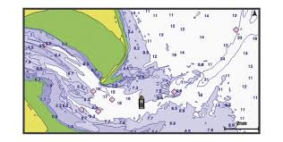 Echomap Plus Series Navigation Chart And Fishing Chart