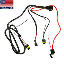 battery relay wiring harness adapter for h3 h7 h11 9005 9006 hid battery relay wiring harness adapter for h3 h7 h11 9005 9006 hid conversion kit