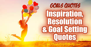 Goal Quotes Gorgeous Inspirational Resolution And Goal Setting Quotes Goals Quotes