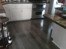 image of kitchen laminate flooring gray