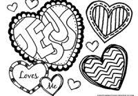Valentine Coloring Pages For Sunday School With Valentine S Day
