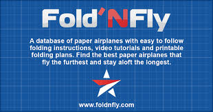 fold n fly paper airplane folding