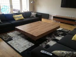 surprising large square oak coffee table 29 catchy big tables with living room the most about