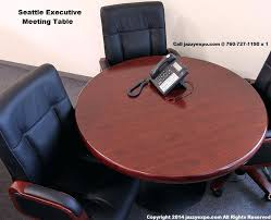 round office table and chairs chairs simple decoration small round office table the round executive meeting