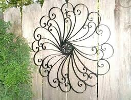 large outdoor metal wall art top outside birds trees big to