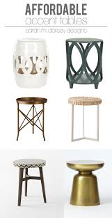 white garden stool super versatile use as a side table to hold a drink or place two under a console table for extra seating when needed works inside or