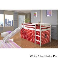 Donco Kids Twin-size Tent Loft Bed with Slide - Free Shipping Today -  Overstock.com - 15450130