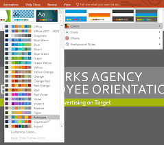 Microsoft Office Ppt Theme Powerpoint 2016 Modifying Themes
