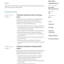 Veterinary Resumes Veterinary Technician Duties Resume Archives Simonvillani