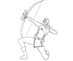 Small Picture Amazing Hawkeye Coloring Pages 32 About Remodel Free Colouring