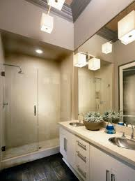 commercial bathroom lighting stylish design