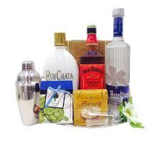 american clic liquor gift basket