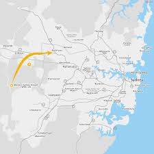 option western sydney airport site to the t western line via this line also offers the potential to support additional developments at new stations between the western sydney airport and the t1 western line