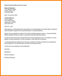 dental assistant cover letter samples cover letter for dental assistant whitneyport daily com