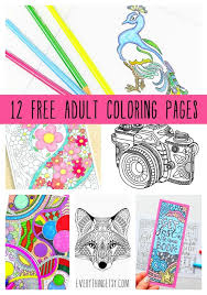 You can download and print them instantly from your computer and even from your mobile phone to your. Free Printable Coloring Pages For Adults 12 More Designs Everythingetsy Com