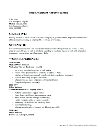 Resume Objective For Government Job Resume For Government Jobs
