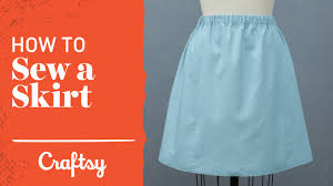 Simple Skirt Pattern New How To Sew A Skirt Quick Easy Project Craftsy Sewing Tutorial